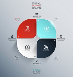 infographics design vector image
