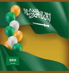 Saudi arabia patriotic background vector