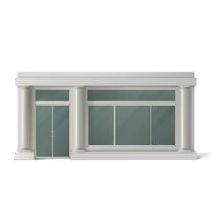 store front shop or boutique facade vector image