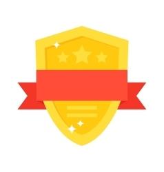 Shield award vector image