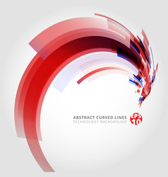 abstract background element in red and blue vector image