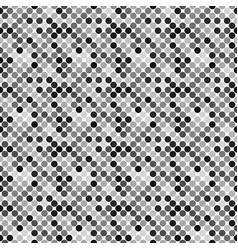 Abstract geometrical dark grey circle pattern vector