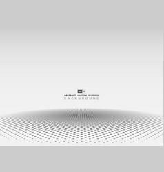 abstract gray halftone circle decoration vector image