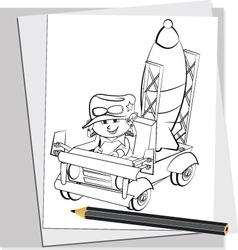 Battle Doodles 3 vector