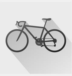 Bicyle symbol vector