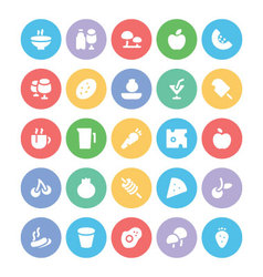 Food Icons 9 vector image