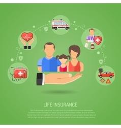 Life Insurance Concept vector