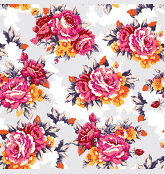 shabroses vintage seamless pattern vector image