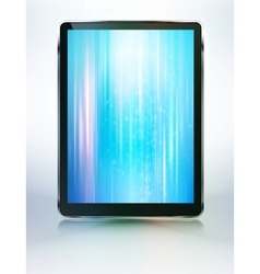 tablet computer abstract backroung vector image