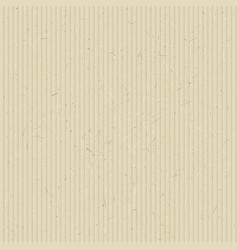 The texture of corrugated cardboard vector image