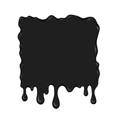 blob of ink or oil vector image