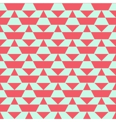 Pastel color blocked pattern vector image vector image