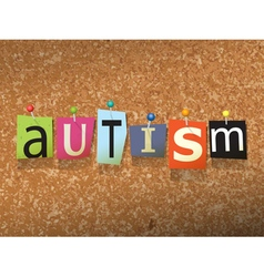 Autism Concept vector