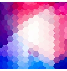 Background of geometric shapes Colorful mosaic vector