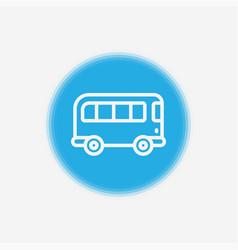 bus icon sign symbol vector image