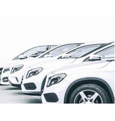 Car dealer center vector