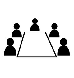 conference icon vector image