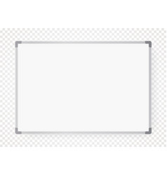 empty office white board realistic vector image