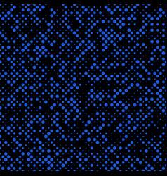Halftone circle pattern background design vector