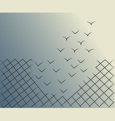 magical escape vector image