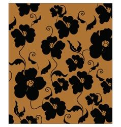 Poppy flowers pattern vector image