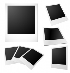 printed photos vector image