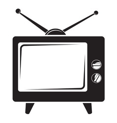 TV BW vector