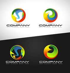 Corporate Abstract Sphere vector image vector image