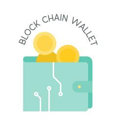 Block chain wallet vector
