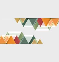 Bright color hexagon geometrical composition vector