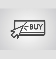 buy icon sign symbol vector image