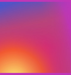 Colorful modern fresh gradient background vector