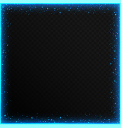 Frames with blue sequins vector
