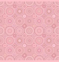 Geometrical circle pattern background - seamless vector