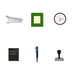 isolated business tools flat icon vector image
