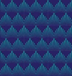 Japan wave patternGeometric stylish background vector