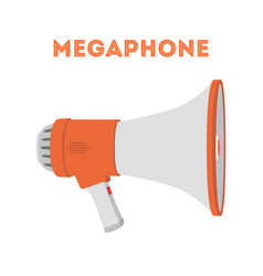 megaphone device to announce news vector image