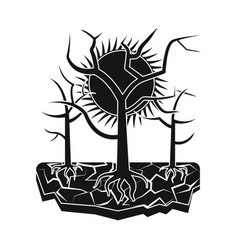 Natural and disaster logo vector