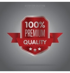 Premium quality isolated badge or label vector