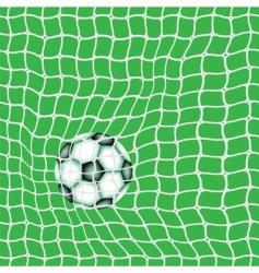 goal ball vector image vector image