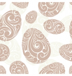 abstract eggs background vector image