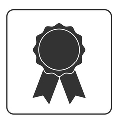 Award medal icon gray 2 vector
