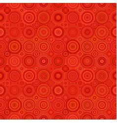 geometric circle mosaic pattern background vector image