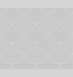grey decorative seamless pattern vector image