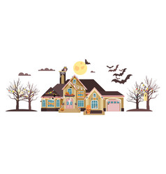 Isolated cartoon house vector
