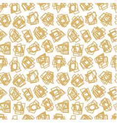 modern and fashion gold random abstract creative vector image