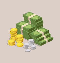 money design background vector image
