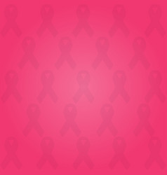 pink background with ribbons vector image