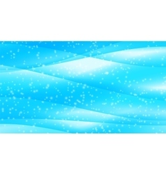Set of Abstract Blue Wave Set on Transparent vector