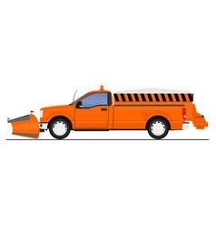 Snow plow 03 vector